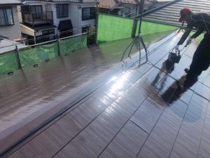 神奈川県横浜市鶴見区 外壁塗装 屋根塗装 縁切り タスペーサー 遮熱塗料アドグリーンコート (1)