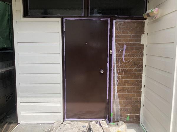 神奈川県横浜市鶴見区 外壁塗装 屋根塗装 下地処理の工程 エスケープレミアムシリコン