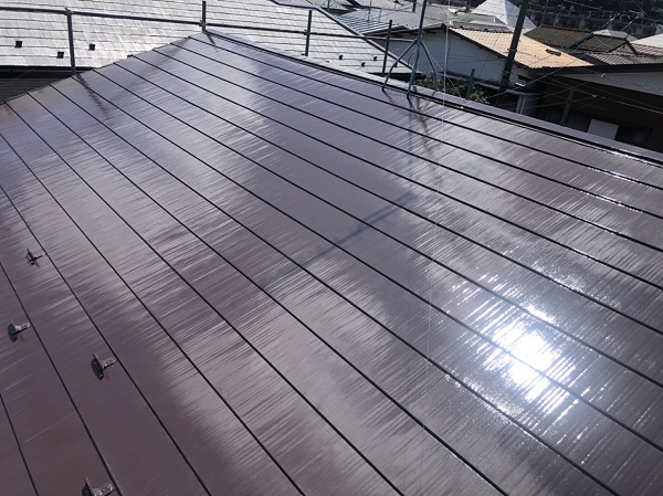 神奈川県横浜市鶴見区 外壁塗装 屋根塗装 縁切り タスペーサー 遮熱塗料アドグリーンコート (2)