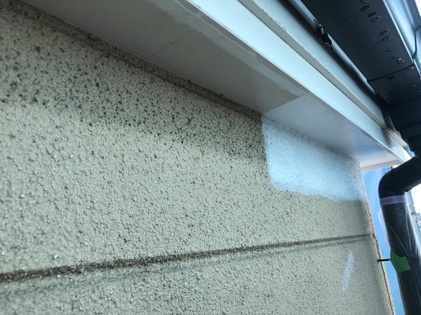 神奈川県横浜市磯子区 軒天塗装 ニッペ ノキテンエース