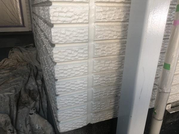 神奈川県横浜市金沢区 外壁塗装 塗装工事の工程 下地処理だけで仕上がりの8割りが決まります! (2)