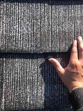 神奈川県横浜市瀬谷区 屋根塗装 下塗り→タスペーサー設置 縁切りとは