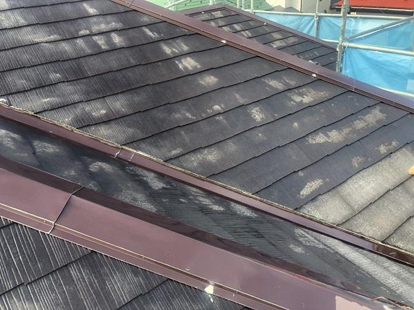 神奈川県横浜市港南区 屋根塗装 下塗り 縁切り タスペーサー (1)