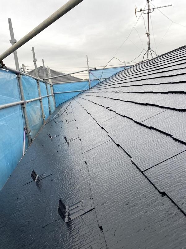 神奈川県横浜市西区 屋根塗装 3度塗り 艶有りと艶消しのメリット・デメリット (1)