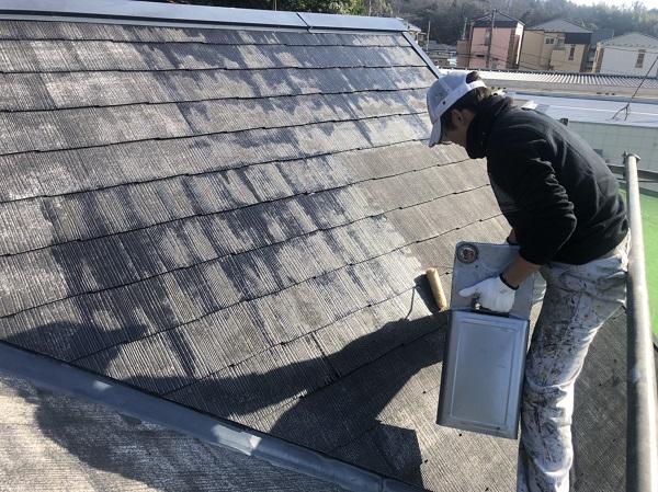 神奈川県横浜市西区 屋根塗装 3度塗り 艶有りと艶消しのメリット・デメリット (4)