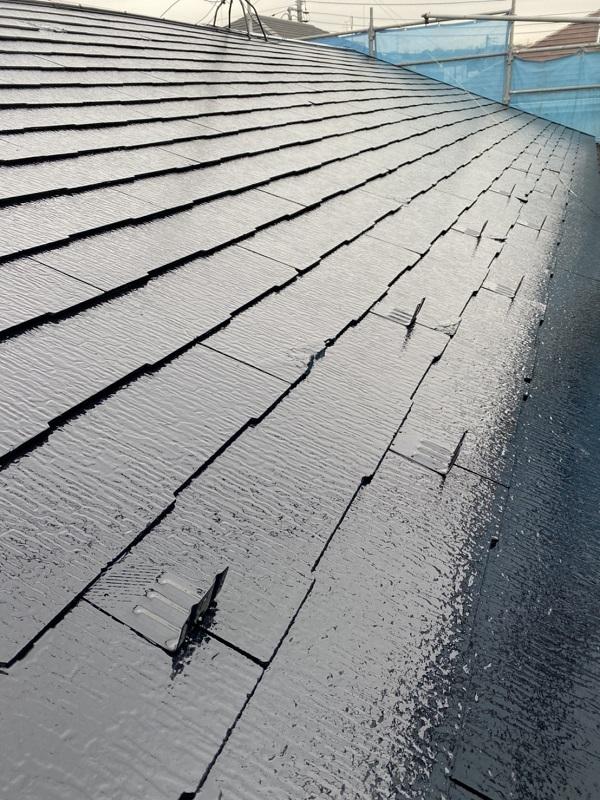 神奈川県横浜市西区 屋根塗装 3度塗り 艶有りと艶消しのメリット・デメリット (3)