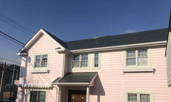 神奈川県横浜市鶴見区 屋根塗装・外壁塗装 完工 定期訪問サポート (2)