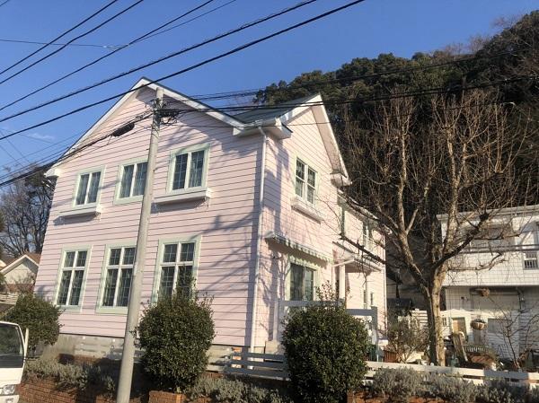 神奈川県横浜市鶴見区 屋根塗装・外壁塗装 完工 定期訪問サポート (3)