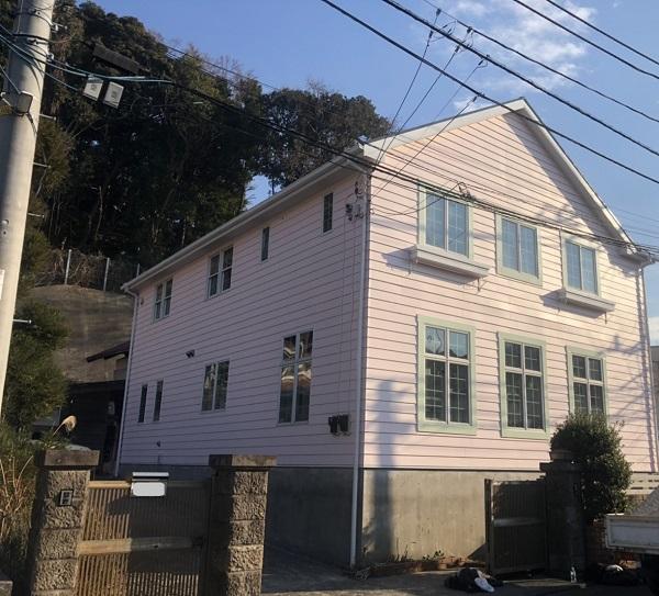 神奈川県横浜市鶴見区 屋根塗装・外壁塗装 完工 定期訪問サポート (1)