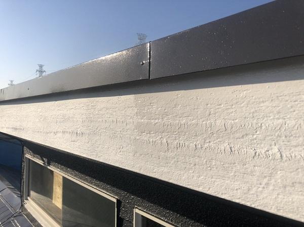神奈川県横浜市保土ケ谷区 屋根塗装、外壁塗装 屋根・破風板塗装 日本ペイント パーフェクトトップ (2)