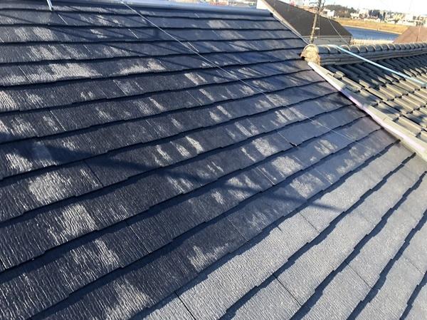 神奈川県横浜市南区 屋根塗装・外壁塗装 化粧スレート 屋根下塗り2回