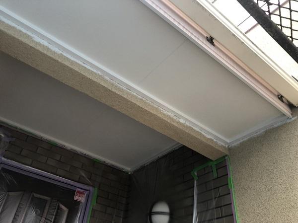神奈川県横浜市中区 軒天塗装 軒天とはどこか 軒天で高圧洗浄をしない理由 (3)