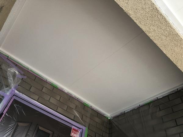 神奈川県横浜市中区 軒天塗装 軒天とはどこか 軒天で高圧洗浄をしない理由 (2)