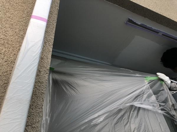 神奈川県横浜市中区 軒天塗装 軒天とはどこか 軒天で高圧洗浄をしない理由 (1)
