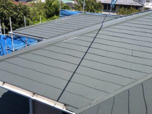 神奈川県横浜市神奈川区 屋根塗装 化粧スレート屋根 塗装の工程 日本ペイント 遮熱塗料 サーモアイ4F (7)