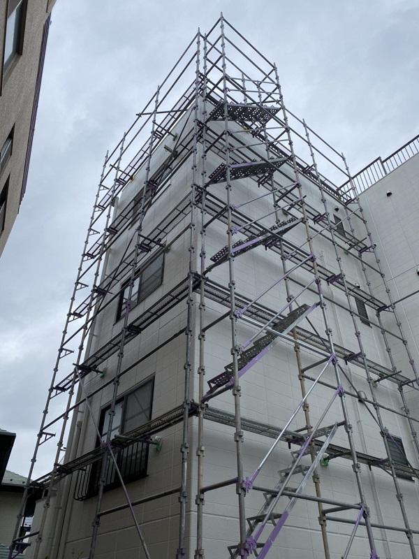 神奈川県横浜市保土ケ谷区 外壁塗装 マンション シーリング工事 (2)