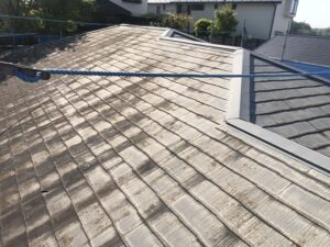 神奈川県横浜市神奈川区 屋根塗装 化粧スレート屋根 塗装の工程 日本ペイント 遮熱塗料 サーモアイ4F (9)