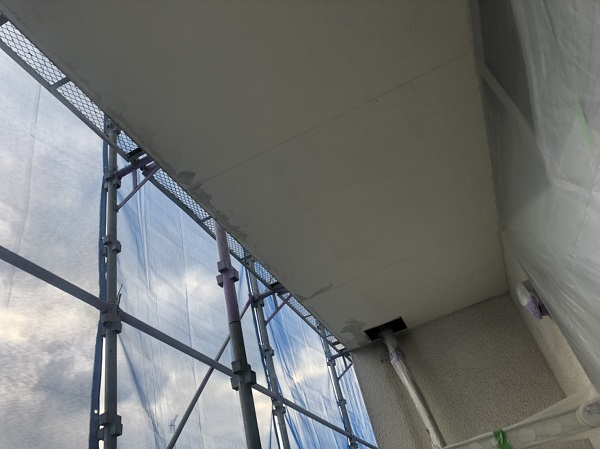 神奈川県横浜市西区 軒天塗装 日本ペイント ノキテンエース
