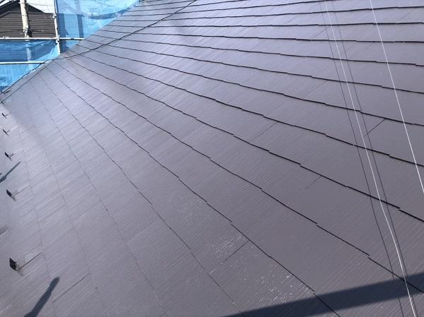 神奈川県横浜市金沢区 屋根の劣化症状 屋根塗装工事の工程 (1)