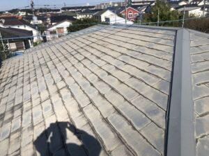 神奈川県横浜市神奈川区 屋根塗装 化粧スレート屋根 塗装の工程 日本ペイント 遮熱塗料 サーモアイ4F (8)