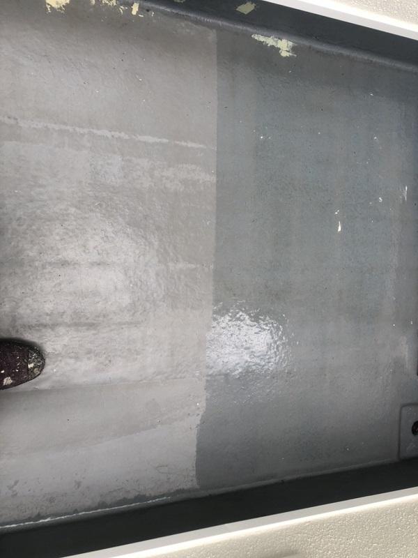 神奈川県横浜市中区 防水工事 ベランダ ウレタン防水工事 (1)