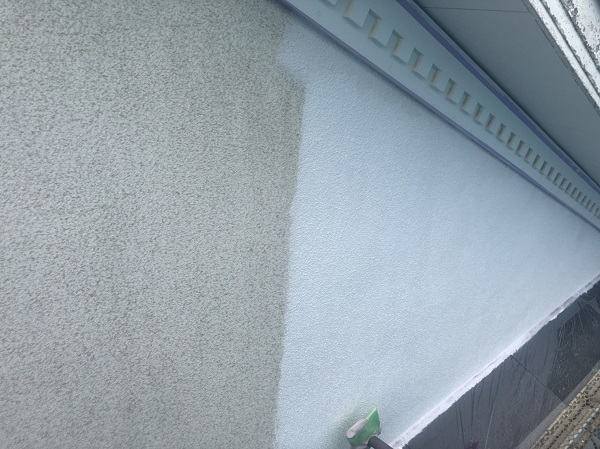 神奈川県横浜市港北区 外壁塗装 JAXAと共同開発された塗料 ガイナ 完工 (4)