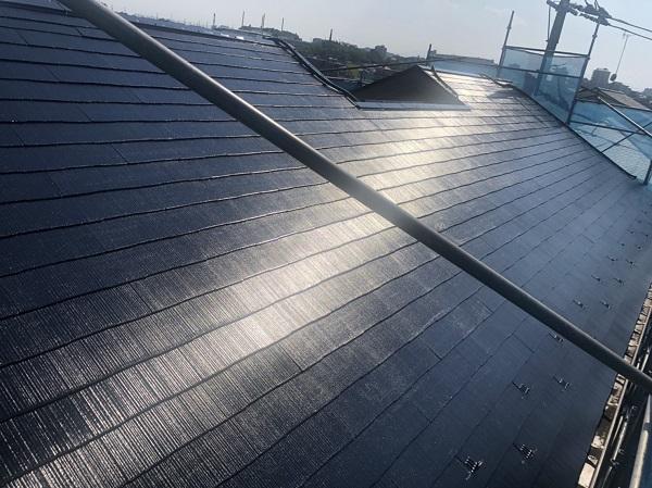 神奈川県横浜市青葉区 屋根塗装 防水工事 化粧スレート屋根の塗装 (6)