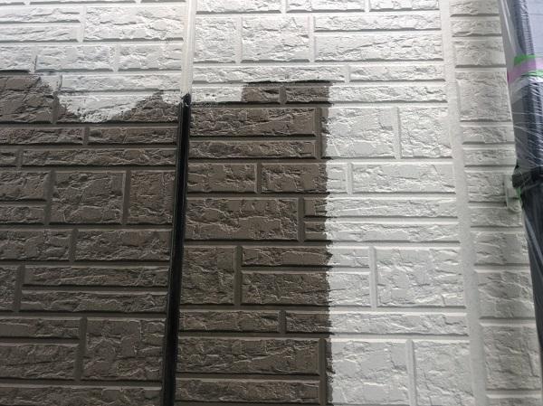 神奈川県横浜市港北区 外壁塗装・付帯部塗装・防水工事 雨樋、外壁塗装 (2)