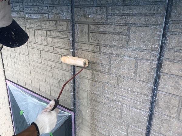 神奈川県横浜市港北区 外壁塗装・付帯部塗装・防水工事 雨樋、外壁塗装 (1)