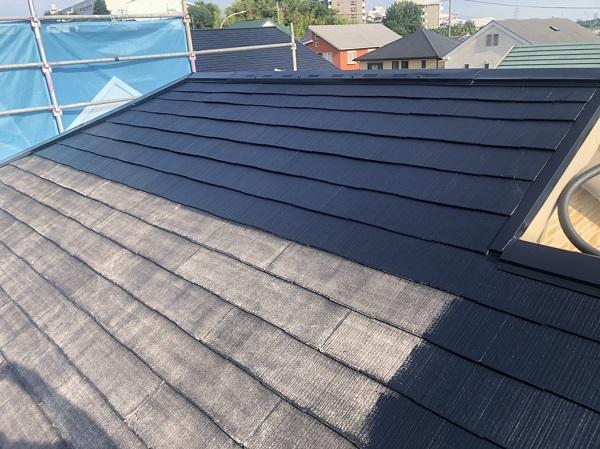 神奈川県横浜市青葉区 屋根塗装 防水工事 化粧スレート屋根の塗装 (4)
