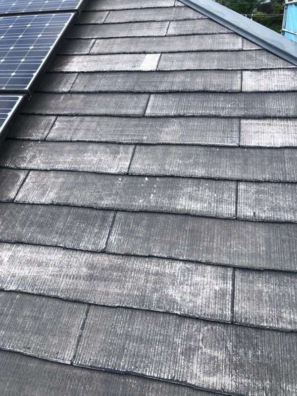 神奈川県横浜市青葉区 屋根塗装 防水工事 化粧スレート屋根の塗装 (3)