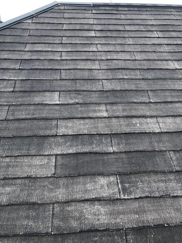 神奈川県横浜市青葉区 屋根塗装 防水工事 化粧スレート屋根の塗装 (1)