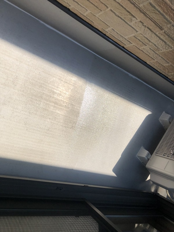 神奈川県横浜市青葉区 屋根塗装 防水工事 ベランダ防水 トップコート塗り替え (2)