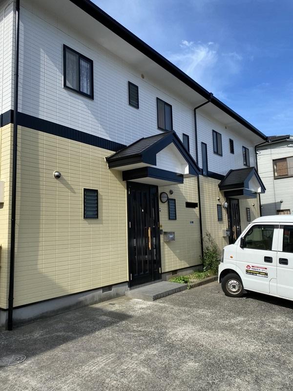 神奈川県横浜市都筑区 屋根塗装・外壁塗装・付帯部塗装 外壁塗装の工程 完工 (2)