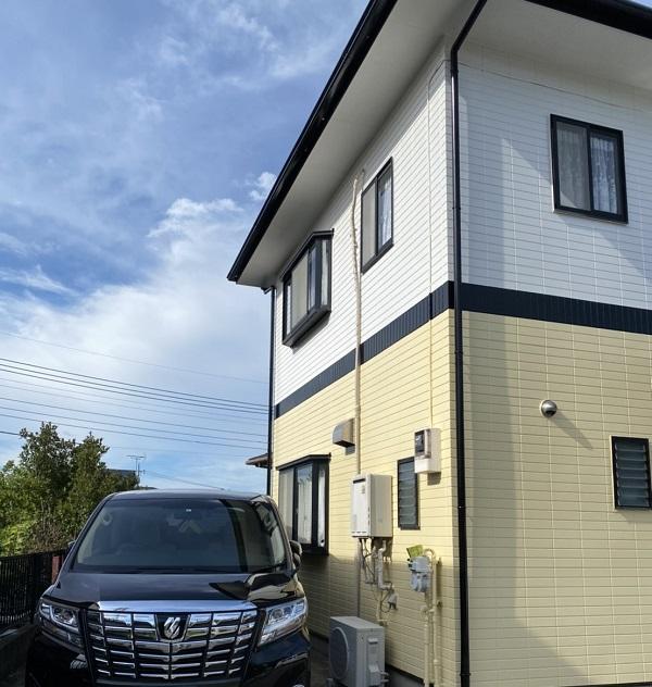 神奈川県横浜市都筑区 屋根塗装・外壁塗装・付帯部塗装 外壁塗装の工程 完工 (1)