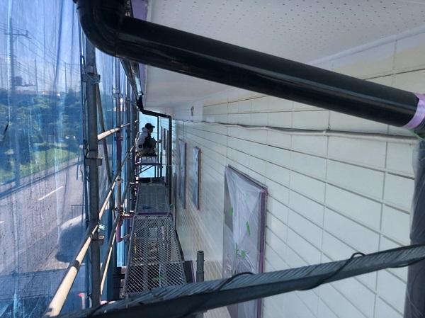 神奈川県横浜市都筑区 屋根塗装・外壁塗装・付帯部塗装 外壁塗装の工程 完工 (3)