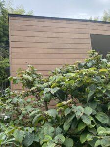 神奈川県横浜市西区 外壁塗装・付帯部塗装 施工前の様子 下地処理 養生 (4)