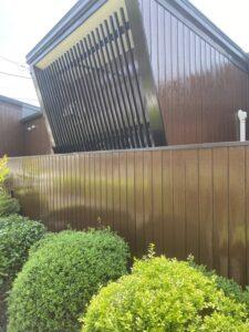 神奈川県横浜市西区 外壁塗装・付帯部塗装 木材の塗装 木目を生かす塗料と消す塗料 (3)