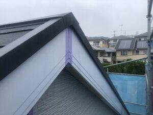 神奈川県横浜市戸塚区 屋根塗装・外壁塗装 シーリング打ち替え工事 破風板とは (4)
