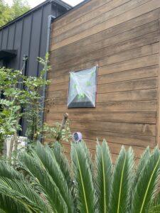 神奈川県横浜市西区 外壁塗装・付帯部塗装 施工前の様子 下地処理 養生 (1)