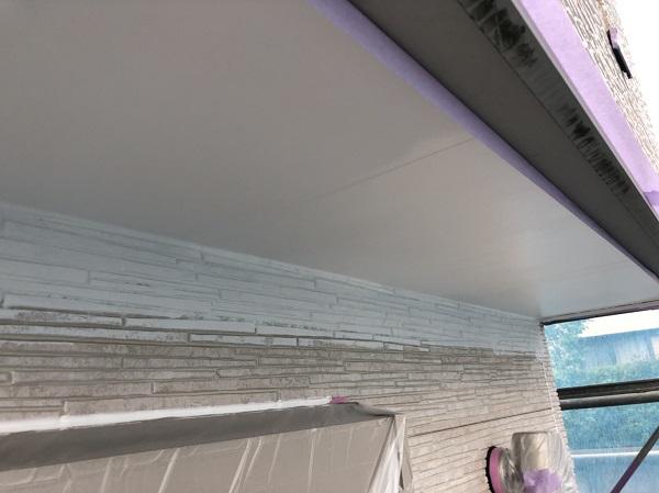 神奈川県横浜市戸塚区 屋根塗装・外壁塗装 付帯部とは 軒天塗装 (1)